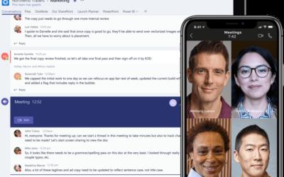 COVID 19 : Microsoft Teams façonne le milieu professionnel et éducatif